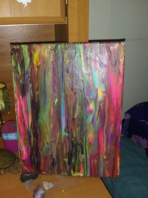 14x11 abstract painting for Sale in Pamplin, VA