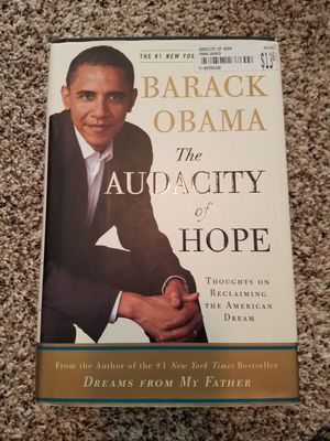 Book- The Audacity of Hope by Barack Obama for Sale in Sanger, CA
