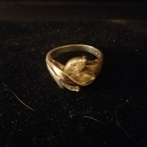 .925 Silver and Cubic Zirconia ring size 9 ladies for Sale in Puyallup, WA