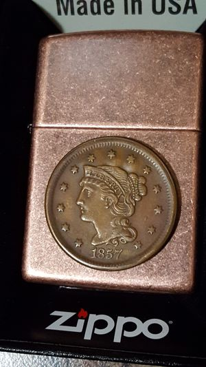 1857 Large Cent on Copper Zippo for Sale in HVRE DE GRACE, MD