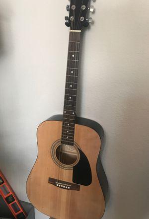 Fender guitar with bag for Sale in Las Vegas, NV