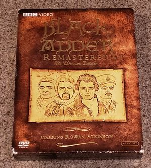 Rowan Atkinson Black Adder Ultimate Collection DVD for Sale in Las Vegas, NV