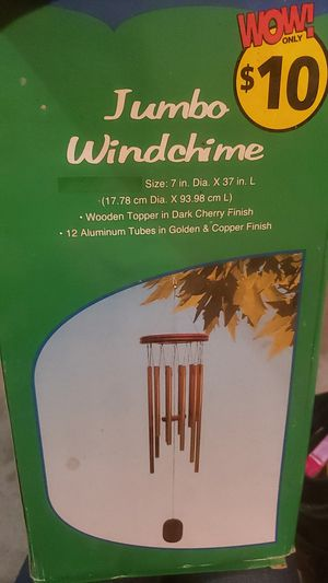 JUMBO WINDCHIME for Sale in Pflugerville, TX