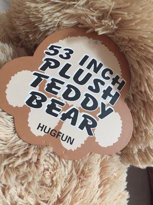 53 inch Plush Teddy Bear for Sale in Tacoma, WA