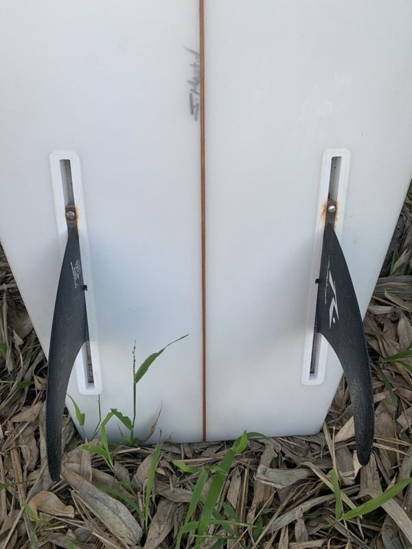 Hobie Duo 6'6 surfboard twin fin