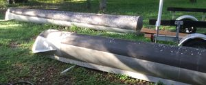 2-24' aluminum pontoons for Sale in Spring Hill, FL