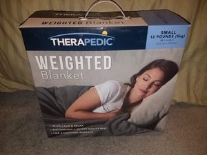 "Therapedic Weighted Blanket, 12 lbs (48"" x 68"") for Sale in Herndon, VA"