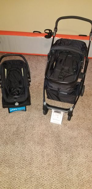 COMBO !!! Urbini Stroller 3 in 1 & Age Level Basisnet for Sale in Cedar Hill, TX