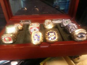 Asssorted NFL superbowl rings for Sale in Meherrin, VA