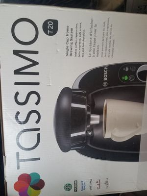 TASSIMO T20 SINGLE CUP COFFEE MAKER for Sale in New York, NY