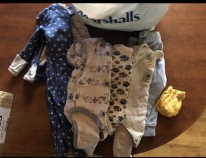 Bag full of baby boy clothes for Sale in San Jacinto, CA