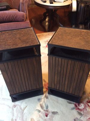 Vintage Morse Stereo Speaker Set for Sale in Rockville, MD