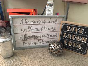 Home decor bundle for Sale in Stanton, CA