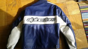 Alpinestars full leather Motorcycle Jacket (Large) for Sale in Centreville, VA
