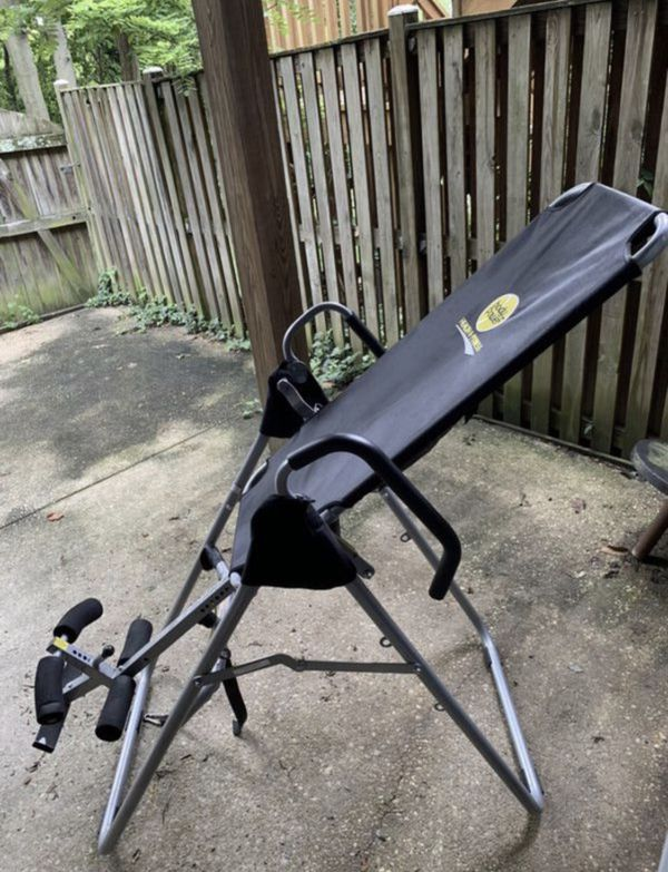 Inversion Table, Full size - back pain relief ( Exercise, weights)