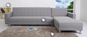 Reversible Sleeper Sectional W a chaise for Sale in North Miami Beach, FL
