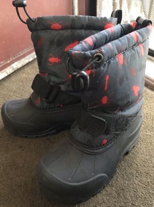 Kids weather boots for snow, rain Size 11 for Sale in Los Angeles, CA