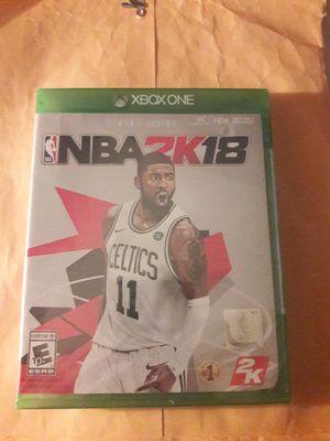 NBA 2K18 Xbox One Brand New for Sale in Spanaway, WA
