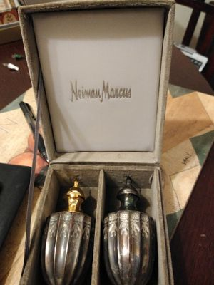 Silver salt and pepper shakers for Sale in Ashburn, VA