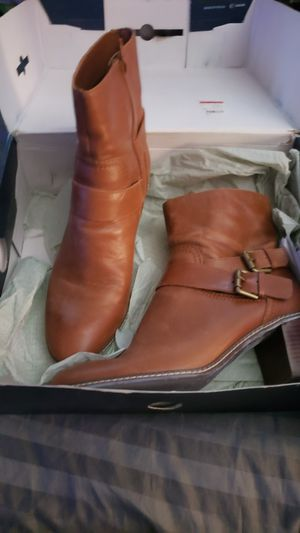 Ann Klein leather ankle boots and Baretraps boots for Sale in Marlow Heights, MD