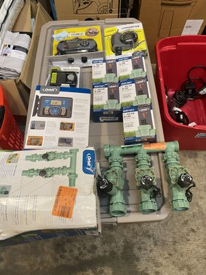 Orbit Timer sprinkler and more $180 for all for Sale in Cedar Hill, TX