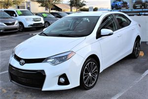 2015 TOYOTA COROLLA TYPE S for Sale in Kissimee, FL