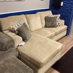 Dorsten Sofa Reversible Chaise for Sale in Clinton Township,  MI