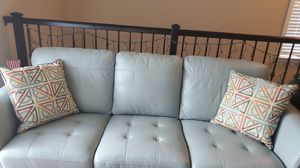 Char,leather couch,lamp,and more for Sale in Tampa, FL
