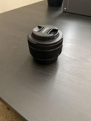 Canon EF 50mm 1.8 for Sale in Yuba City, CA
