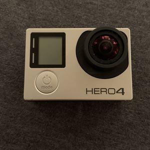 Hero 4 Silver Go Pro for Sale in Pompano Beach, FL