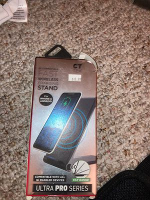 Wireless charging stand for Sale in Glendale, AZ