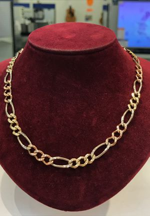 Gold three color chain fcp2224 for Sale in Houston, TX