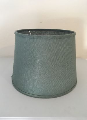 Sage green lamp shade like new for Sale in Laveen Village, AZ