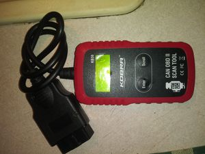 KOBRA OBDII CHECK ENGINE SCANNER for Sale in Vinton, LA