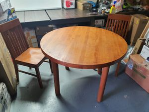 Wooden table with 2 chairs for Sale in Kyle, TX