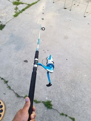 Fishing rod combo for Sale in Lynwood, CA