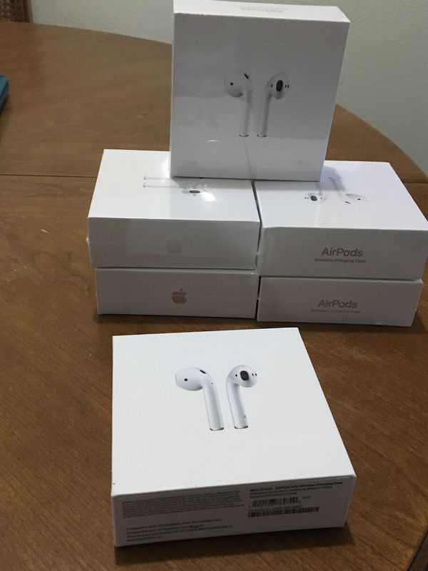 Brand new Airpods 2nd !! 2 for $180 deal !!