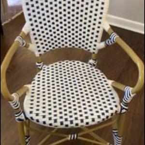 Set Of 4 Safavieh Indoor/outdoor Bistro Chairs for Sale in Evergreen, CO