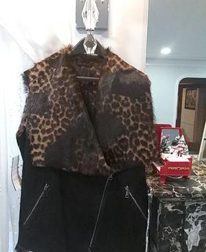 Real Fur Vest and Headband for Sale in Farmington Hills, MI