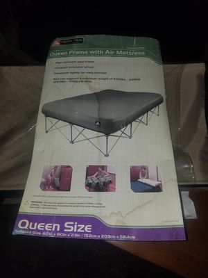 Collapsible Queen Size Air Mattress Frame for Sale in Renton, WA
