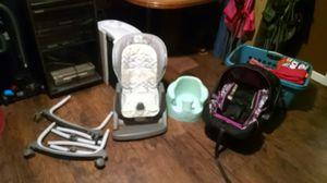 Car seat, high chair, Bumbo seat lot for Sale in Burton, MI