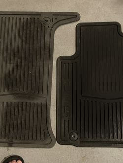 Cadillac CTS Rubber Mats Set Of 2 Front Drive And Passenger for Sale in Cranston,  RI