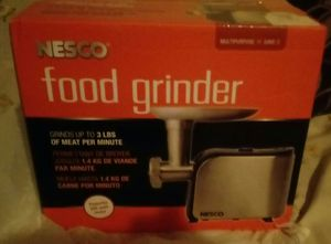 Metal Ware Corpation Nesco 500w Food Grinder - FG180 for Sale in Hannibal, MO