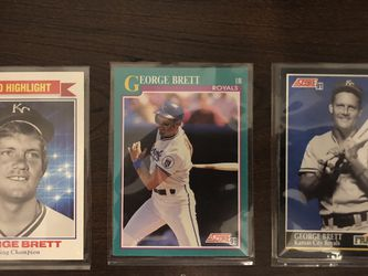 George Brett Baseball Card Collection for Sale in Modesto,  CA