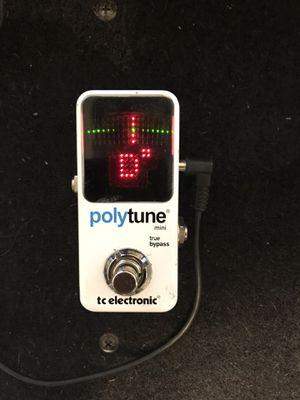 Polytune mini guitar tuner for Sale in Dallas, TX