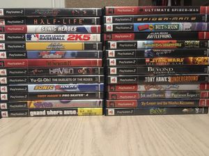 Lot of Ps2 games with System for Sale in Moreno Valley, CA