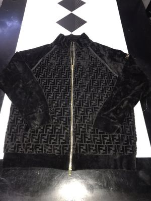 Fendi Jacket Black Size Large Brand New In Hand Never Worn Jordan for Sale in Forest Park, IL