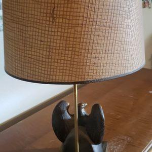 Vintage Bronze/Brass Eagle Lamp for Sale in Phoenix, AZ