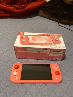 Coral Nintendo Switch lite for Sale in Mesa, AZ