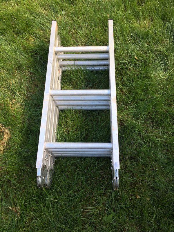 12 ft aluminum folding ladder